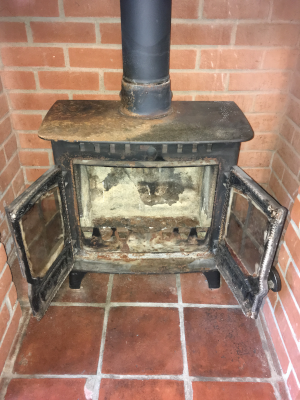 Job 4:   Pre-finished Stove