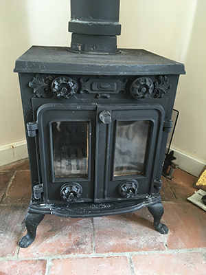Job 2: Pre-finished Stove