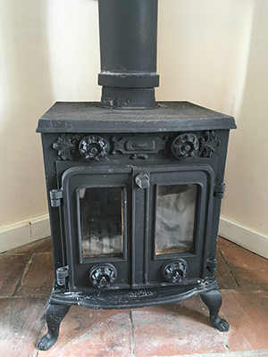 Job 3:  Pre-finished Stove