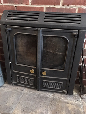 Total Front of Stove